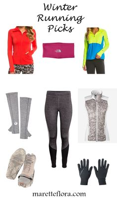 Floradise: Fall and Winter Running Gear