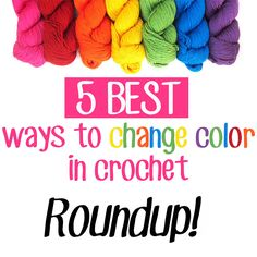 We've all been there – we need to change color a million times in a crochet pattern, and we can already hear the sighs of yarnies everywhere. Stripes are a pain, let's just be honest. Yes, they make for beautiful baby blankets and sweaters, but those ENDS. Ugh. To help with these major woes, I'veRead More