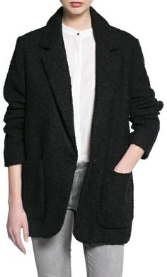 MANGO Wool-blend oversize coat on shopstyle.com