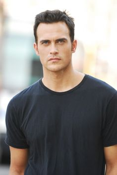 Cheyenne Jackson - tall, dark and handsome - with blue eyes! Cheyenne Jackson, Dark Hair Blue Eyes, Dylan Bruce, Jackson Movie, Famous Men, Famous People, American Actors, We The People, Role Models