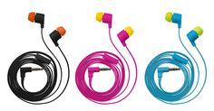 www.trust.com - #19936 - flash reflecting in-ear headphone - black