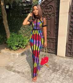 Ankara Straight Gown Design Kente Dress, Ankara Dress Styles, Latest Ankara Styles, Ankara Gowns, Latest African Fashion Dresses, African Print Dresses, Latest Fashion, Ankara Clothing, Cute Dresses