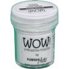 WOW! Bright White Embossing Powder - Opaque - WL01 (SF)