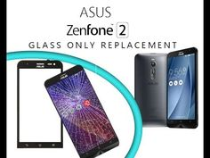 Asus Zenfone 2 (ZE551ML) Glass Touch Digitizer Replacement / Wymiana szy...