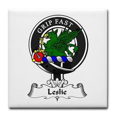 Clan Leslie, family coat of arms - Scotland
