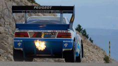 ra OLD PIKES PEAK PEUGEOT 405 T16 Automobile, Rally Raid, Pikes Peak, France, Top Cars, Retro Cars, Peugeot 205, Car Car, Courses