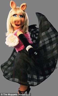 Miss Piggy, one of my many heroes!