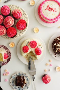 Poppytalk: Love + Let Them Eat Cake | Once Cake Three Ways