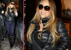 Mariah Carey Last Minute Christmas Shopper -                                     Trying to get in as much retail therapy as humanly possible,  ... Mariah Carey is one of Hollywood's top performers selling out in most locations . With several awards a