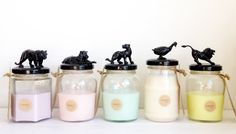 Black candles by candi&co.