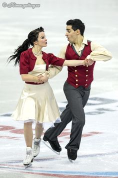 Anna CAPPELLINI / Luca LANOTTE Ice Dancing costume inspiration for Sk8 Gr8 Designs