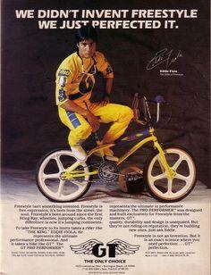 Vintage GT ad BMX