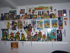 Mike Hanzel's Robin Toy Collection - Batman Collections -- Batman Toy Collectors -- Batman Fan Collections - Batman Toy Collector Showcase - Legions Of Gotham - The Batman Homepage - Batman Fansite - The Batman Authority - Legionsofgotham.org - Legion of Gotham - The Dark Knight fansite