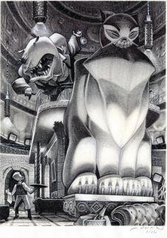 The art of Grim Fandango Peter Chan
