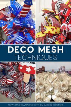Deco Mesh Bows, Deco Mesh Crafts, Deco Mesh Garland, Mesh Ribbon Wreaths, Fall Mesh Wreaths, Halloween Mesh Wreaths, Fall Deco Mesh, Christmas Mesh Wreaths, Deco Mesh Wreath Tutorial