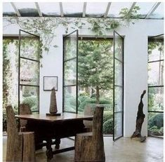 greige: interior design ideas and inspiration for the transitional home by christina fluegge: Outdoor rooms...