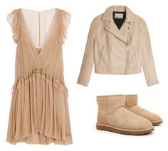 """Untitled #58"" by chertik-alena on Polyvore featuring Chloé, UGG Australia and T By Alexander Wang"