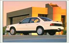 """1991 Nissan Maxima SE """"4DSC""""-4 Door Sports Car The 3rd Generation Maxima's are my favorite Generation of the Maxima."""