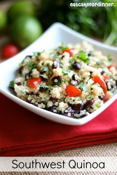 I FINALLY tried quinoa for the first time a few weeks ago. Now, I have been saving recipes left and right. I really liked it, plus it...