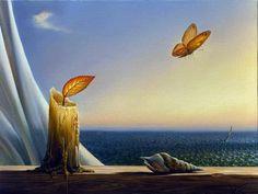 La pintura surrealista de Vladimir Kush