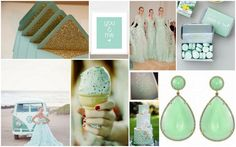 Mint wedding