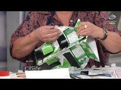 Revista da Cidade- Vaso feito com caixinhas de leite- 08/11/13 - YouTube