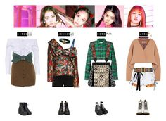 """""""BLACKPINK - AS IF IT'S YOUR LAST❤️"""" by vvvan99 ❤ liked on Polyvore featuring Miu Miu, River Island, Isa Arfen, FAUSTO PUGLISI, Off-White, Diane Von Furstenberg, 3.1 Phillip Lim, Etro, Gabriele Frantzen and Dr. Martens"""