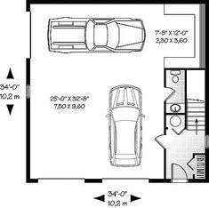 Garage Dimensions Google Search 3 Car