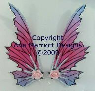 Pretty little fairy wings for decor