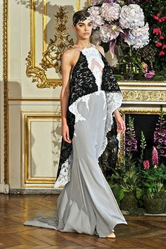 Alexis Mabille Haute Couture Fall-Winter 2013-2014, look 22.  Beautiful details.