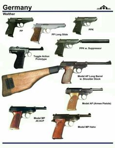 Германские  пистолеты  второй  мировой  войны