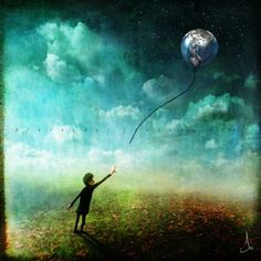 You were my whole world...artwork by alexander jansson...