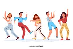 Discover thousands of free-copyright vectors on Freepik Flat Design Illustration, Family Illustration, People Illustration, Character Illustration, Funny Illustration, Character Flat Design, Design Plano, People Crowd, Office People