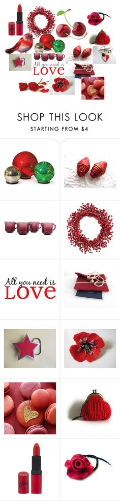 """""""Christmas gift"""" by talma-vardi on Polyvore featuring Improvements, Brewster Home Fashions and Rimmel"""