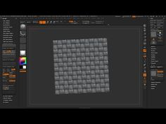 ZBrush 4R7 P3 - 'NanoTile Textures v1.4' Unofficial ZPlugin Tutorial - YouTube