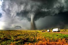 Another view of the stunning Campo tornado from May 31, 2010. This is probably one of my favorite shots of it.
