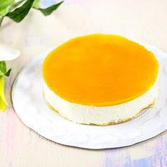Mangojuustokakku Panna Cotta, Mango, Cheesecake, Baking, Ethnic Recipes, Sweet, Desserts, Candies, Easter