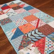 Fall Charmer Charm Square Table Runner - via @Craftsy