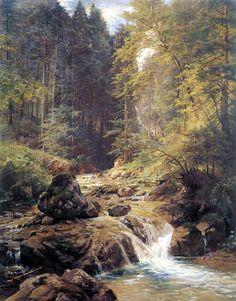 Paul Weber - wooded landscape