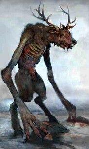 The Wendigo is a demonic half-beast creature appearing in the legends of the Algonquian peoples along the Atlantic Coast and Great Lakes Region of both the United States and Canada. The creature or spirit could either possess characteristics of a human or a monster that had physically transformed from a person. It is particularly associated with cannibalism. The Algonquian believed those who indulged in eating human flesh were at particular risk; the legend appears to have reinforced the…