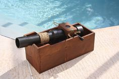 PVC Kids Pirate Cannon - PVC pipe and wood - tutorial provided, lol!