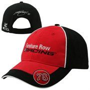 Feel like you're part of the crew! Kurt Busch Furniture Row Racing Official Pit Hat - Red/Black #NASCAR