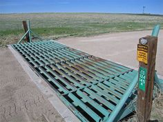 Fire the cattle guards! On so many country roads in Montana.