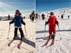 A primeira viagem à neve