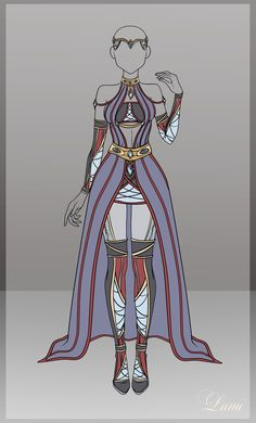 Auction: Adoptable Outfit 1 [CLOSED] by Lumi-Arts.deviantart.com on @DeviantArt