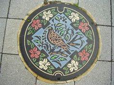 Japanese manhole covers by MRSY-9