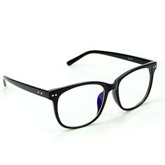 6198f94b51 J+S Vision Blue Light Shield Computer Reading  Glasses - Magnification - Anti  blue light UV protection - Low Color Distortion Lens