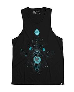 81a0db02 Say hello to our latest glow-in-the-dark creation, the Angler. This premium  glow tank top takes on new life after dark. Ring-Spun Combed Cotton Glow in  the ...