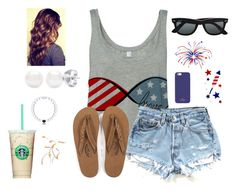 """""""Fourth of July Outfit #2"""" by bubblebuddy855 ❤ liked on Polyvore"""