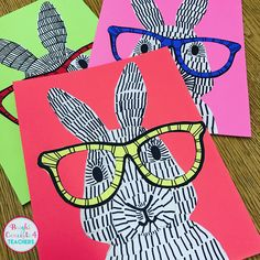 Bright Concepts 4 Teachers: Lesson Plans and Teaching Strategies art for kids grade Bright Concepts 4 Teachers: Lesson Plans and Teaching Strategies Art Class Posters, Pop Art For Kids, 5th Grade Art, Grade 3, Second Grade, Spring Art Projects, Pop Art Design, Bunny Art, Easter Art